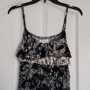 Elle Women's S Hi Low Dress